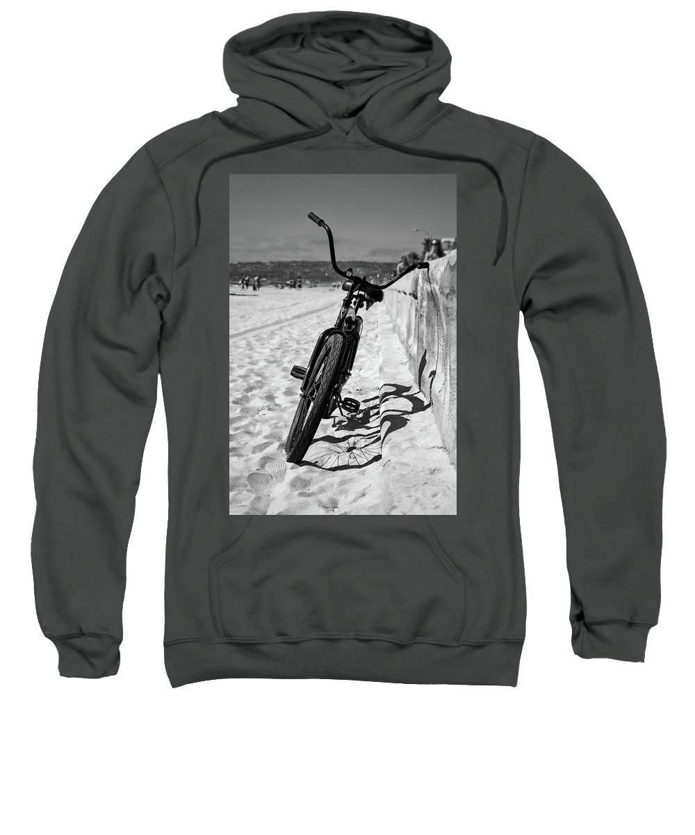 Beach Sweatshirt featuring the photograph Fat Tire by Peter Tellone