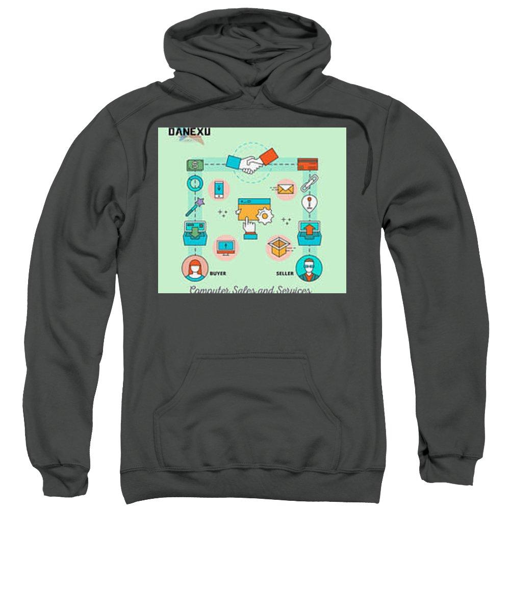 Sweatshirt featuring the photograph Free Business Listing Bangalore by Danexu