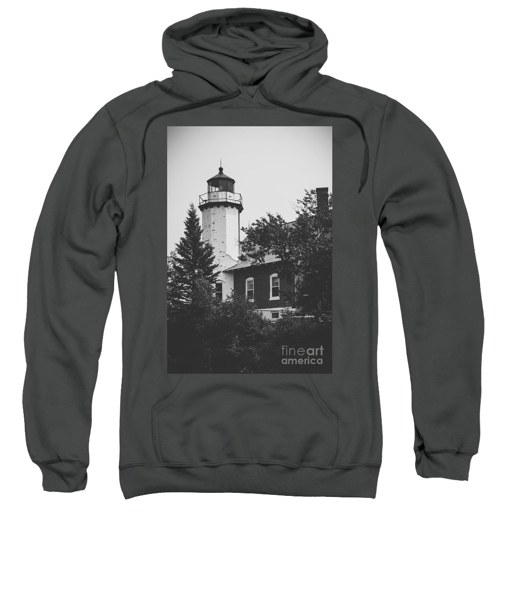 Lighthouse Sweatshirt featuring the photograph Lighthouse by Wesley Farnsworth