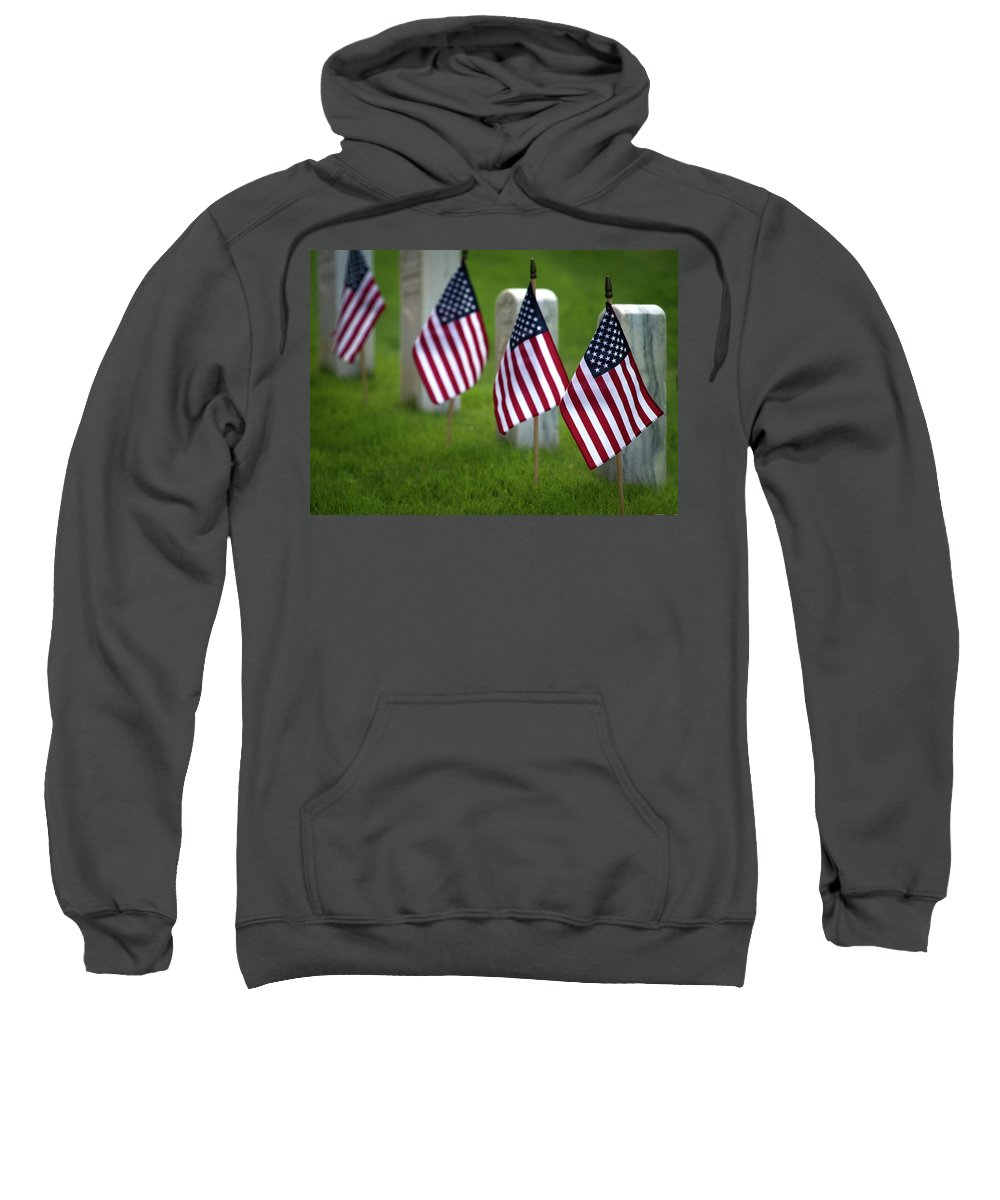 Cobb County Sweatshirt featuring the photograph Memorial Day by Mark Chandler