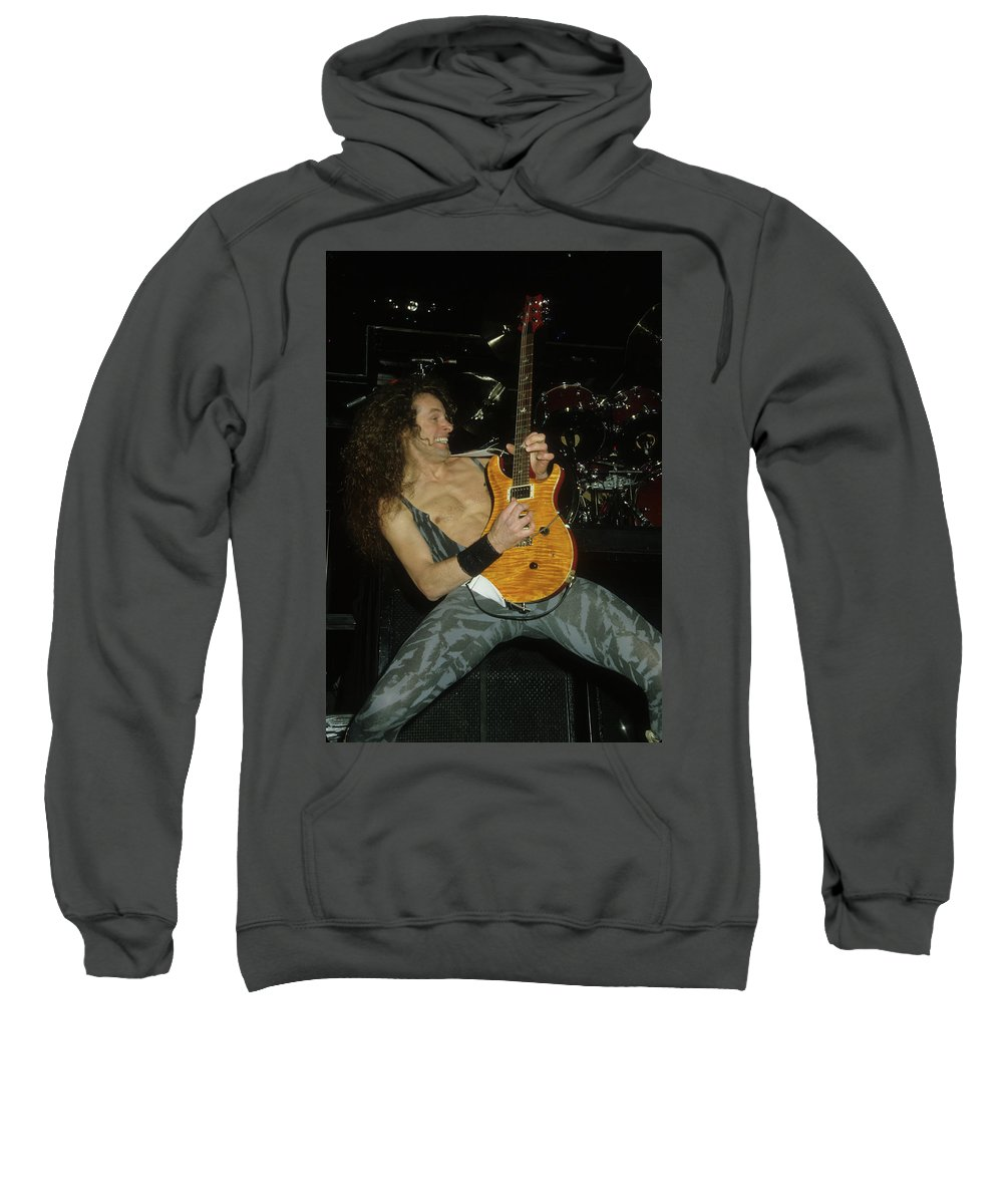 Ted Nugent Sweatshirt featuring the photograph Ted Nugent by Rich Fuscia