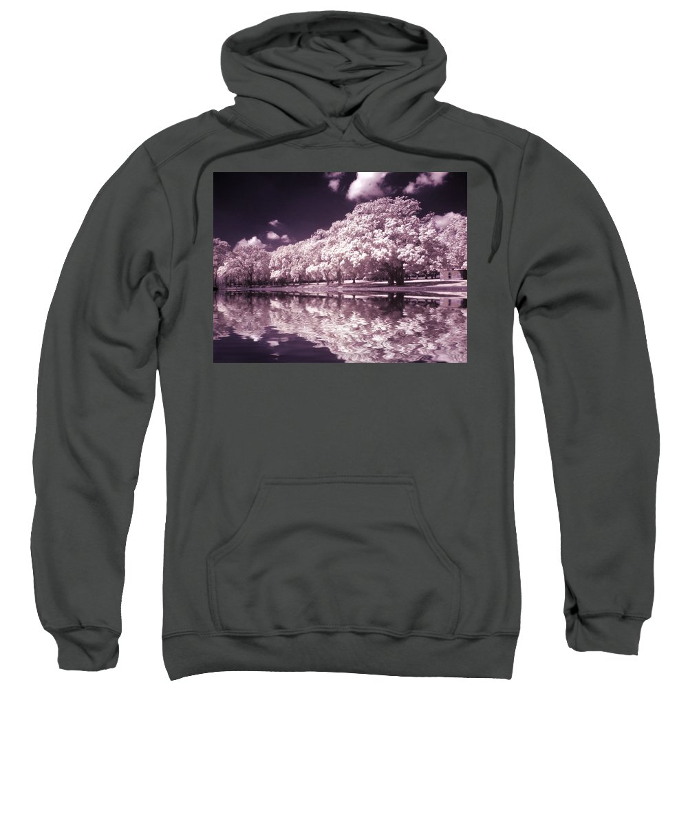 Trees Sweatshirt featuring the photograph Trees At The Carabobo Field by Galeria Trompiz