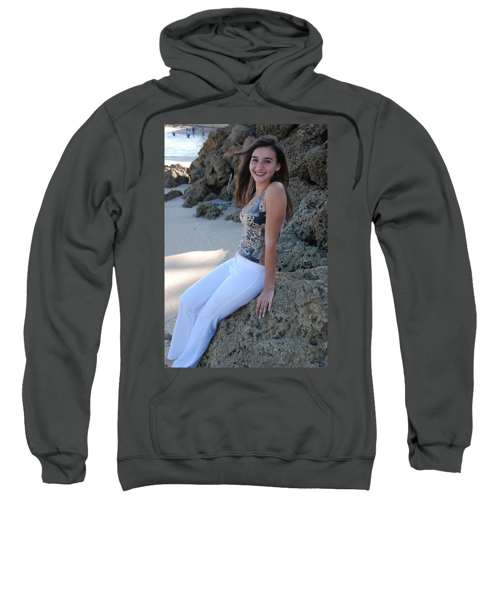 Women Sweatshirt featuring the photograph Gisele by Rob Hans