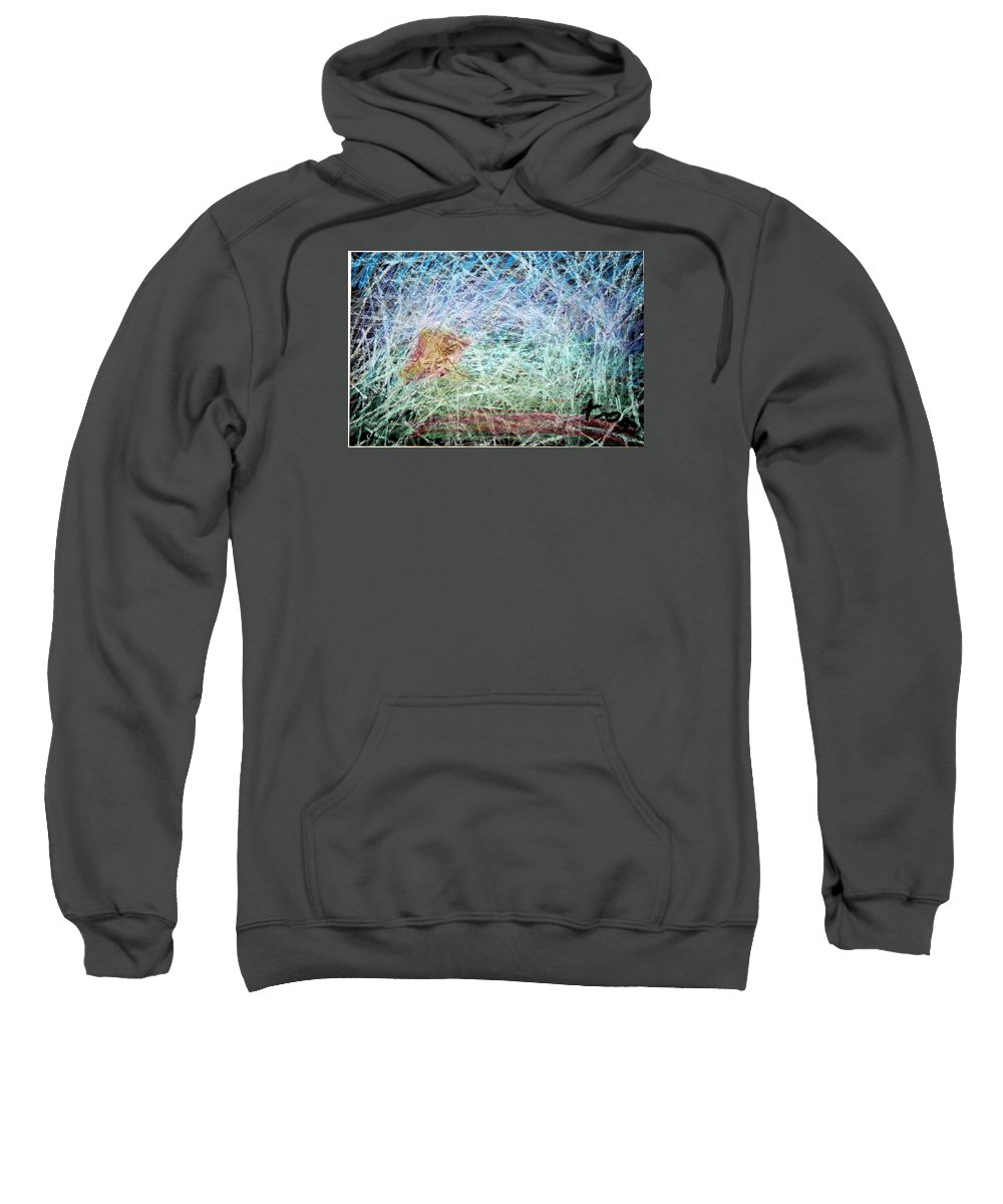 Sweatshirt featuring the painting 24 by Terry Wiklund