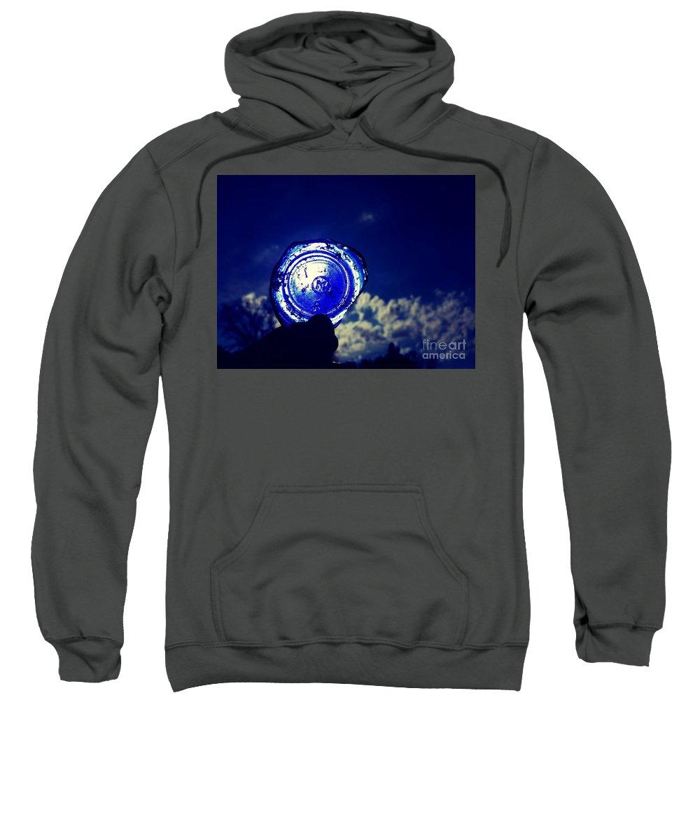Look Sweatshirt featuring the photograph A Look Through Time by Scott D Van Osdol