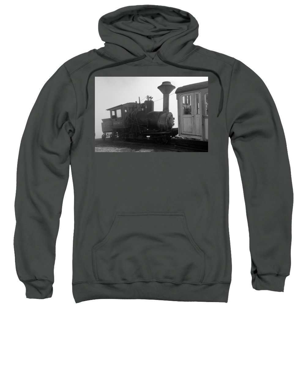Train Sweatshirt featuring the photograph Train by Sebastian Musial