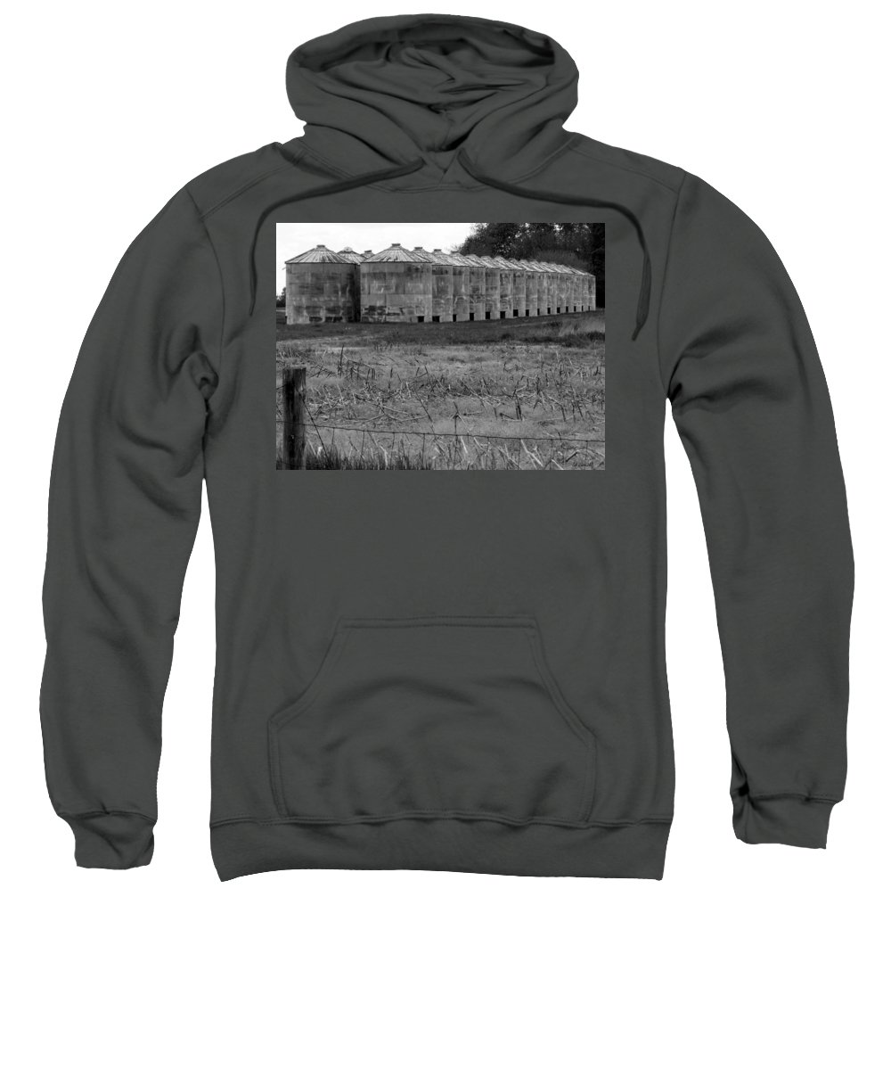 Barn Sweatshirt featuring the photograph 30 Survivors by Ed Smith
