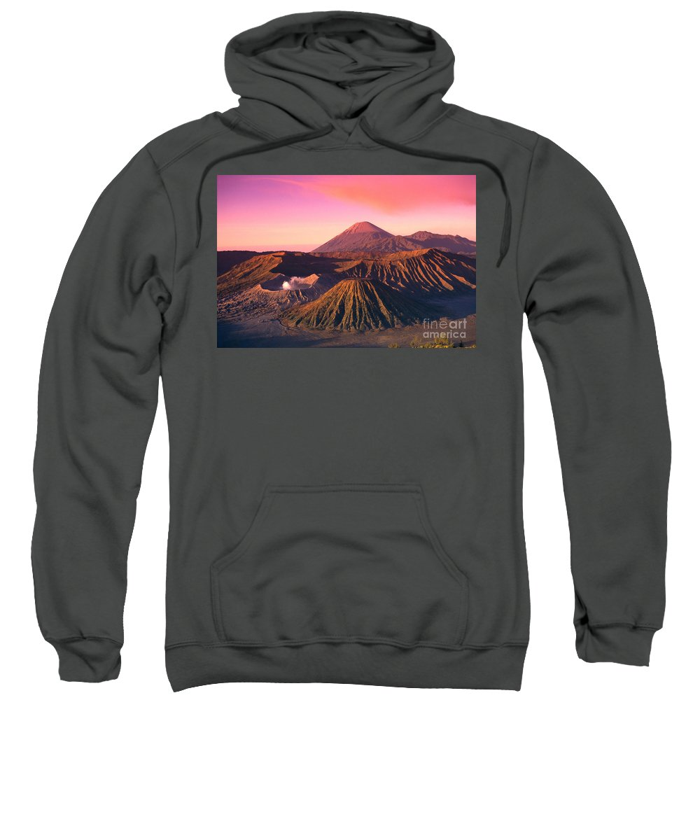 Bromo Sweatshirt featuring the photograph Bromo Tengger Semeru by Gloria & Richard Maschmeyer - Printscapes