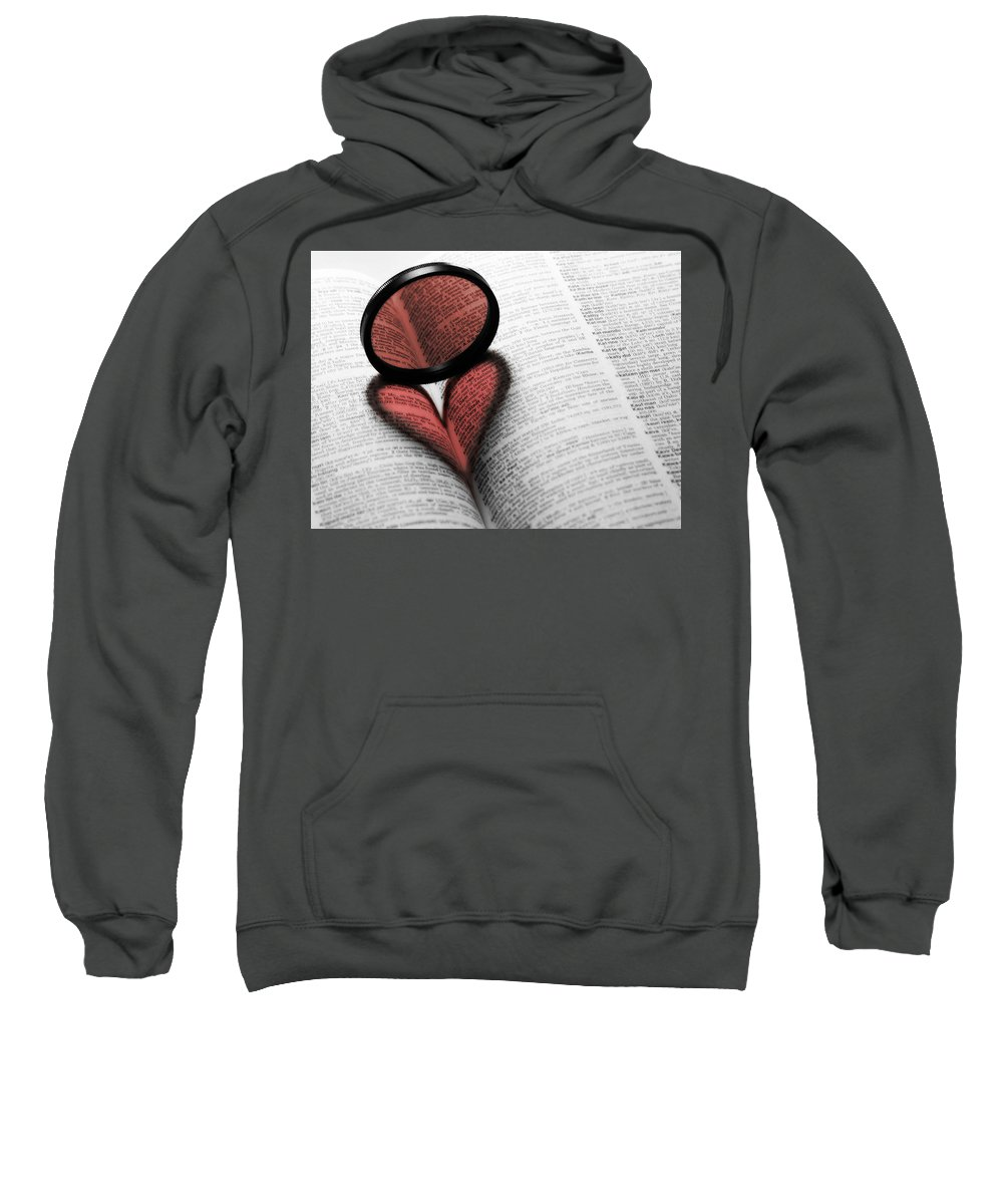 Heart Sweatshirt featuring the digital art Heart by Mery Moon