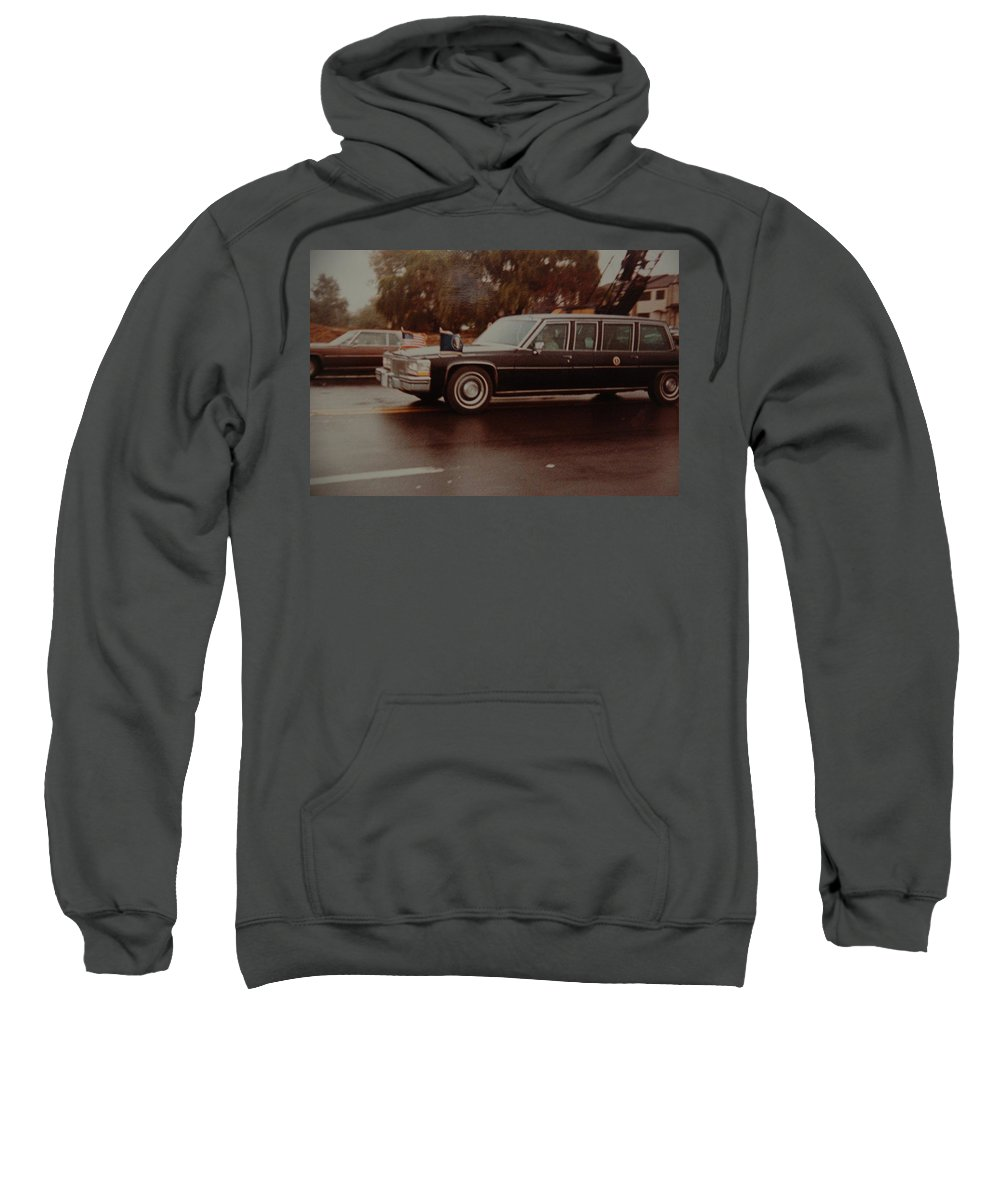 Potus Sweatshirt featuring the photograph 40th In Valley Stream New York by Rob Hans
