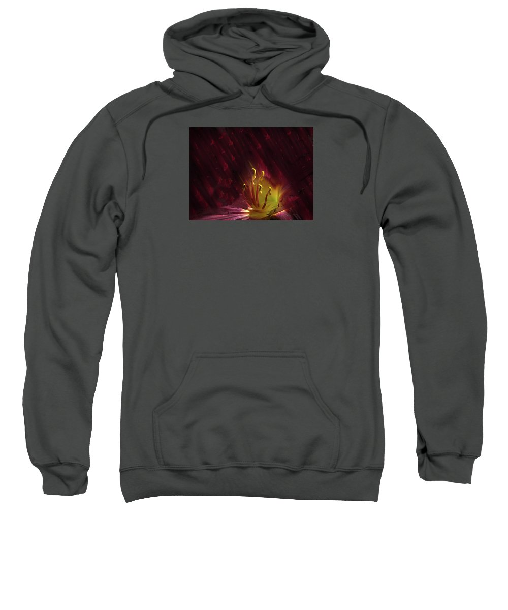 Flower Sweatshirt featuring the photograph 4273 by Peter Holme III