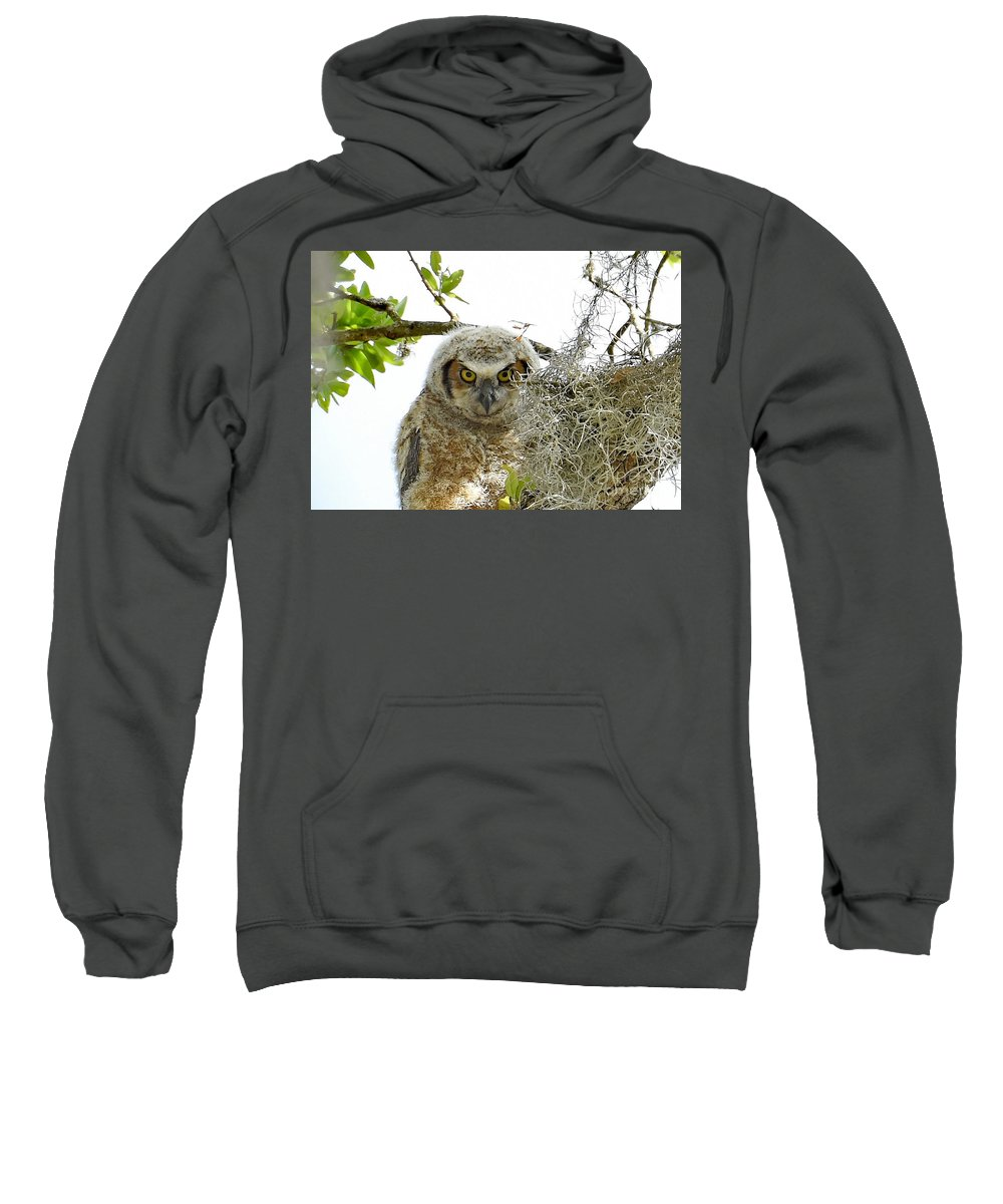Sweatshirt featuring the photograph 4799 by Don Solari