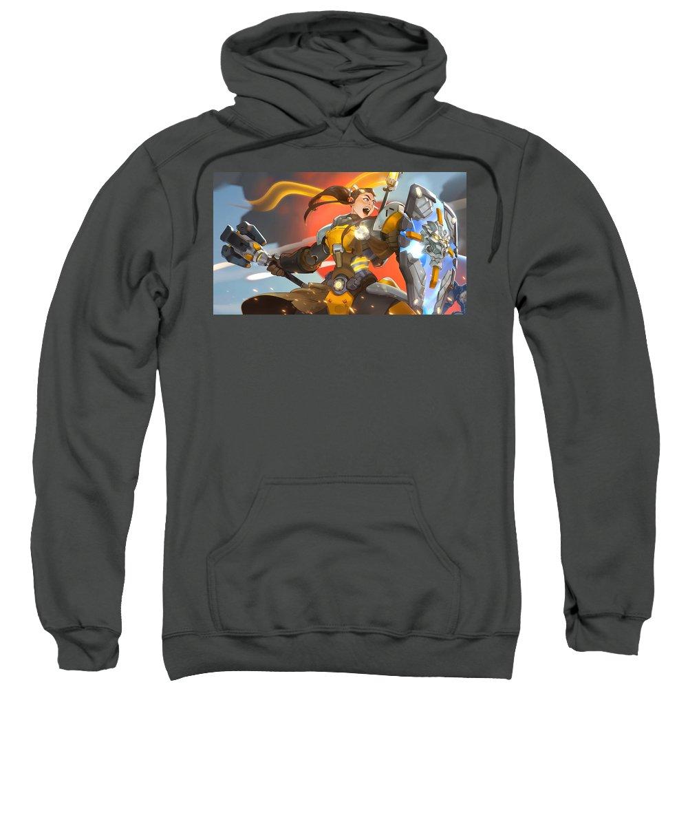 Overwatch Sweatshirt featuring the digital art Overwatch by Bert Mailer