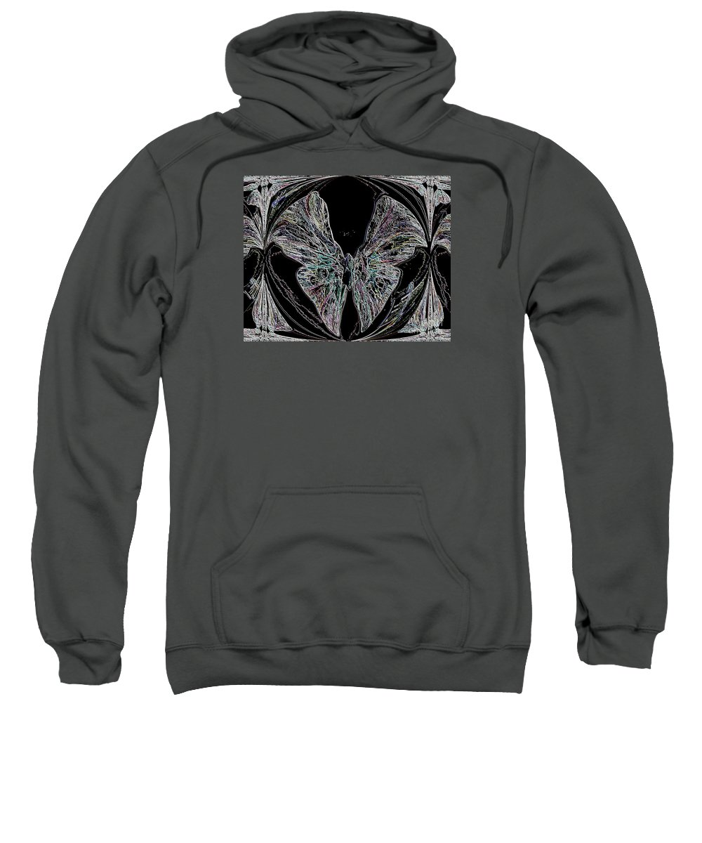 Abstract Sweatshirt featuring the photograph Abstract Series by Sherman Perry