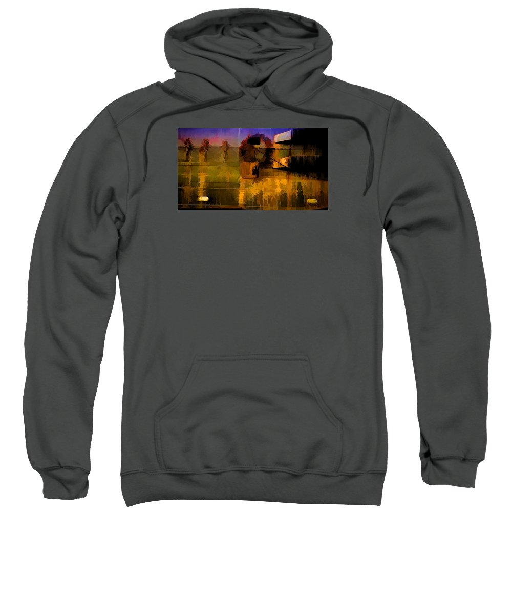Abstract Sweatshirt featuring the photograph 6 by Garth Pillsbury