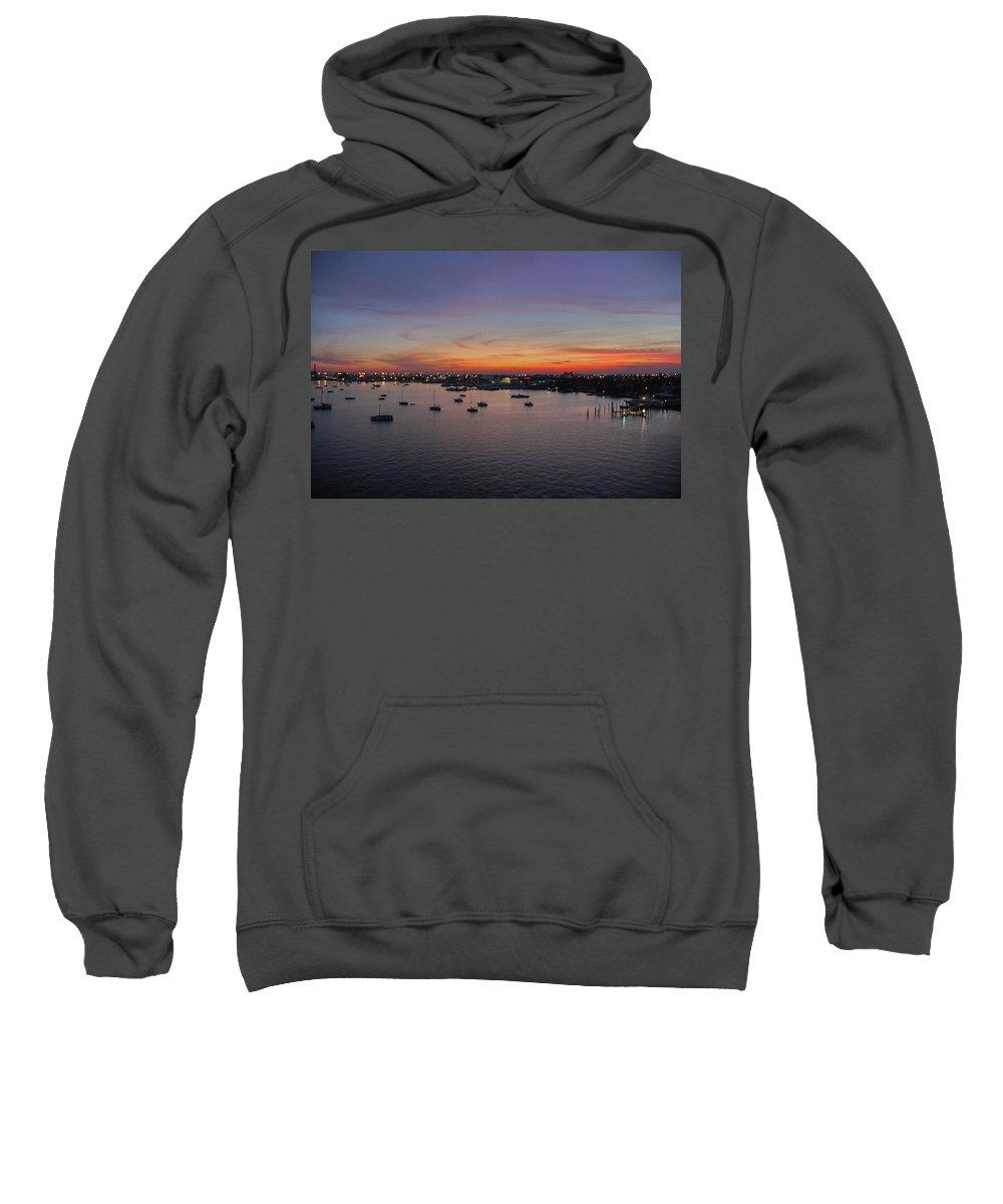 Sunset Sweatshirt featuring the photograph 8- Ahhhhh by Joseph Keane