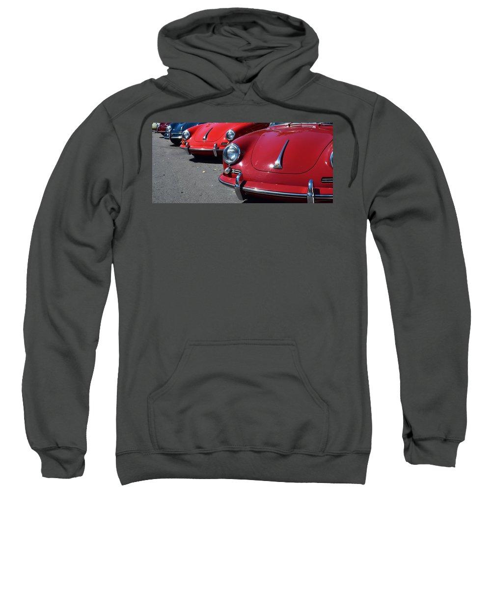 Porsche Sweatshirt featuring the photograph Porsche by Recluse Road