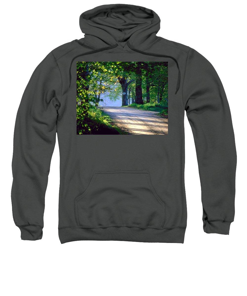 Road Sweatshirt featuring the digital art Road by Bert Mailer