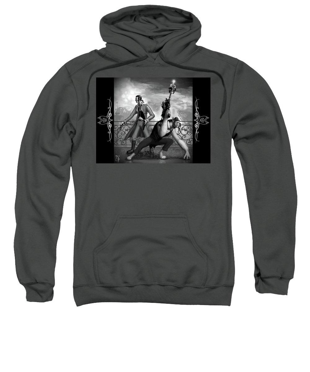 Unknown Sweatshirt featuring the digital art Unknown by Mery Moon
