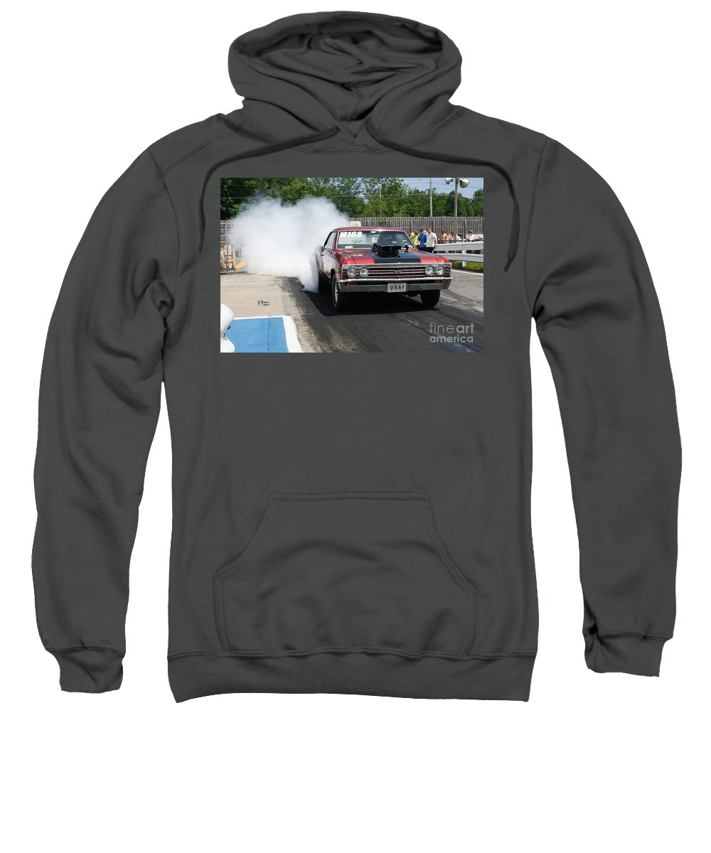 06-15-2015 Sweatshirt featuring the photograph 8672 06-15-2015 Esta Safety Park by Vicki Hopper