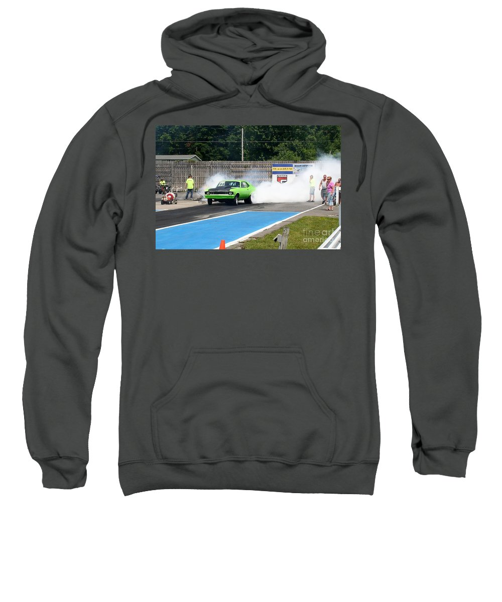 06-15-2015 Sweatshirt featuring the photograph 8840 06-15-2015 Esta Safety Park by Vicki Hopper