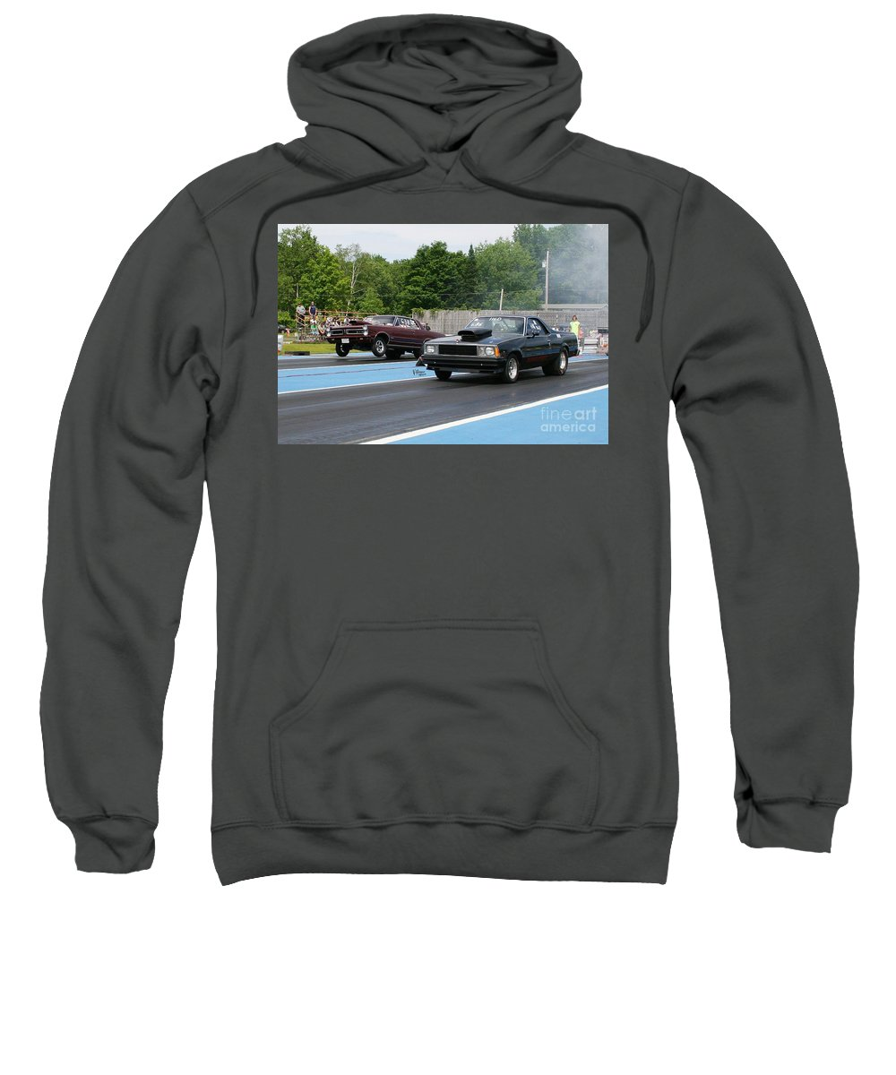 06-15-2015 Sweatshirt featuring the photograph 8849 06-15-2015 Esta Safety Park by Vicki Hopper