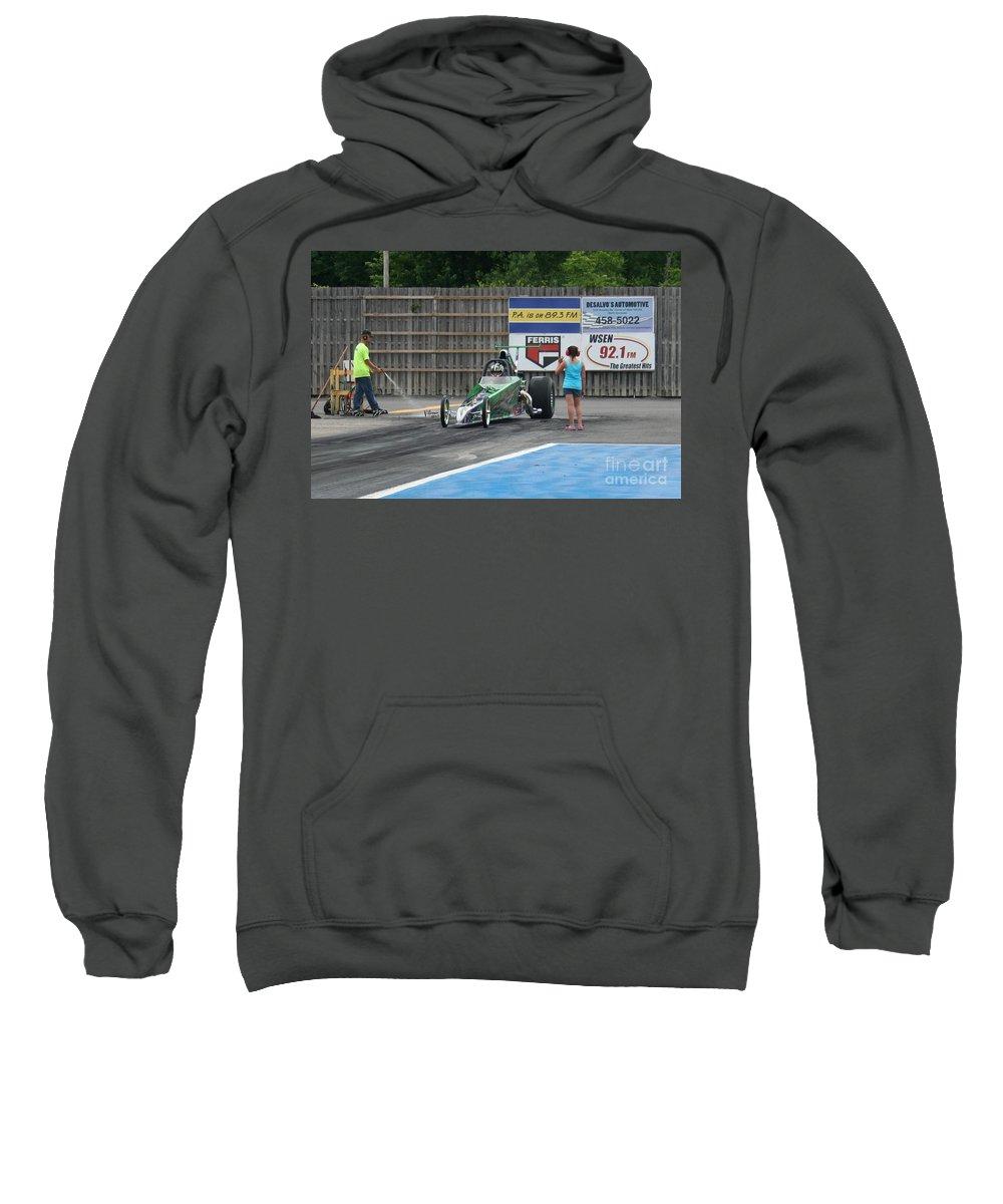 06-15-2015 Sweatshirt featuring the photograph 9062 06-15-2015 Esta Safety Park by Vicki Hopper