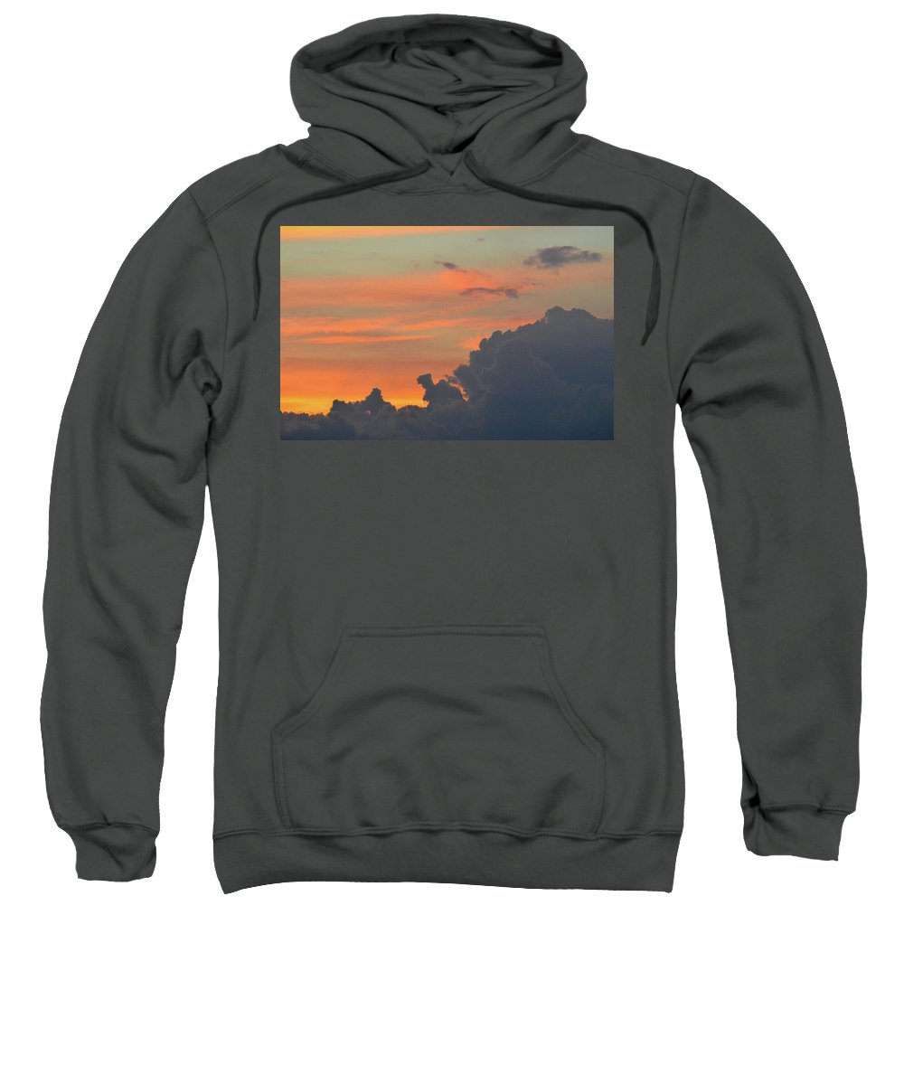Abstract Sweatshirt featuring the photograph 9.20.08 Pm July 6-2016 by Lyle Crump