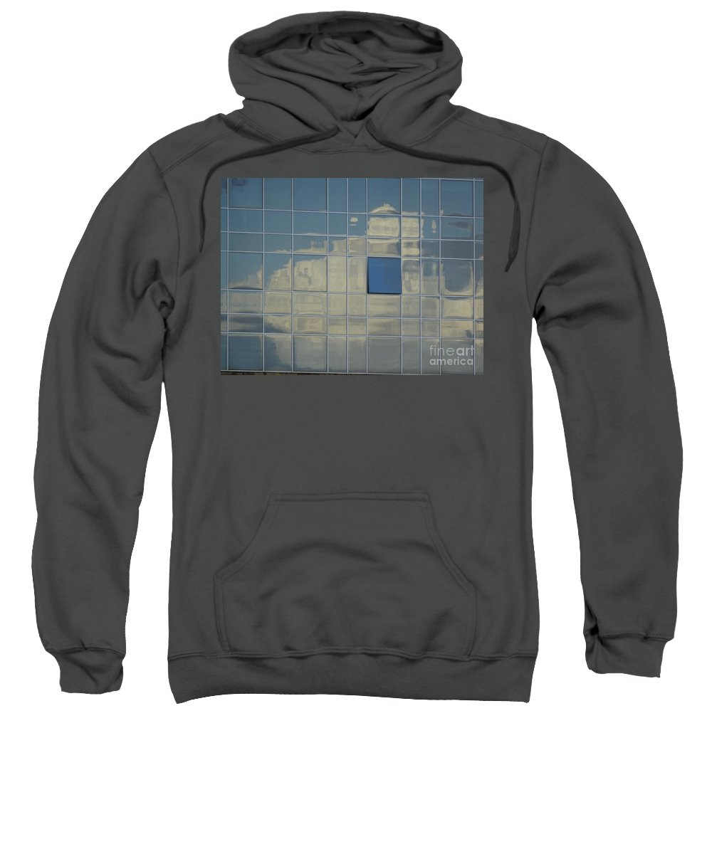 Cloud Sweatshirt featuring the photograph A Break In The Weather by Brian Boyle