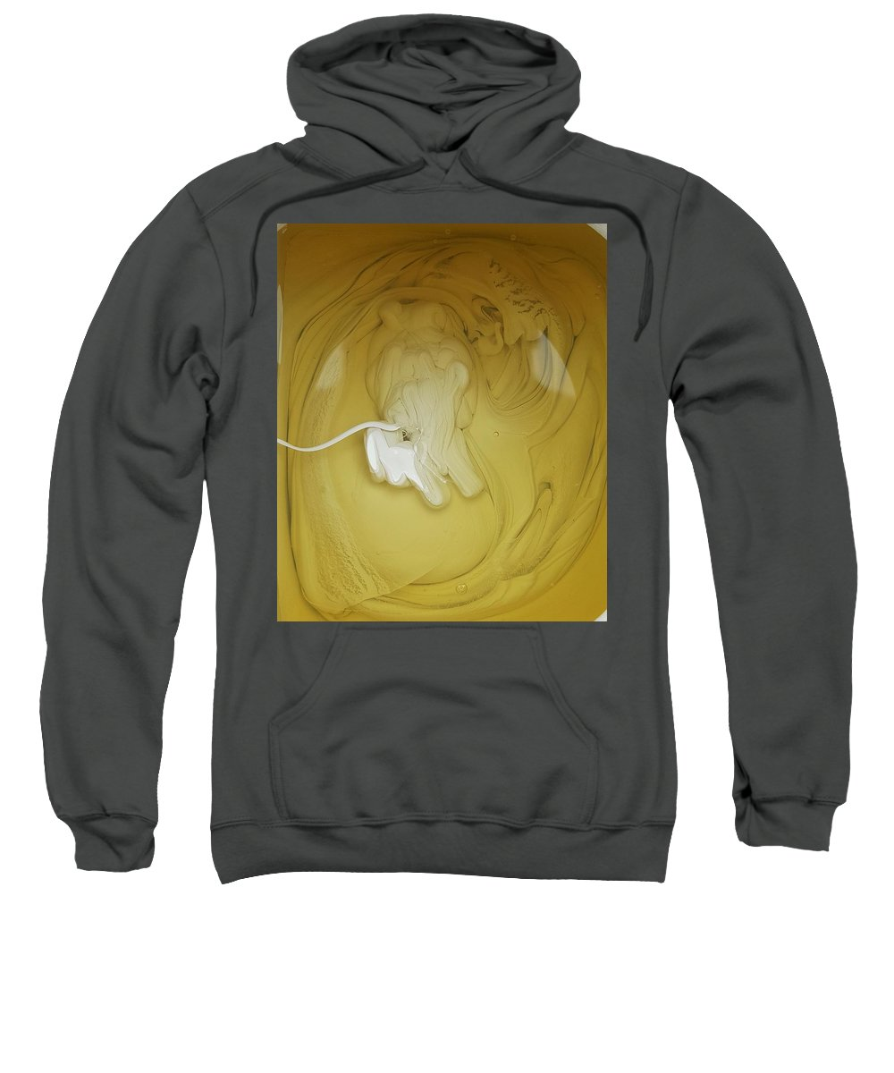 Sweatshirt featuring the photograph A Lion, But Not In Africa... by Gyula Julian Lovas