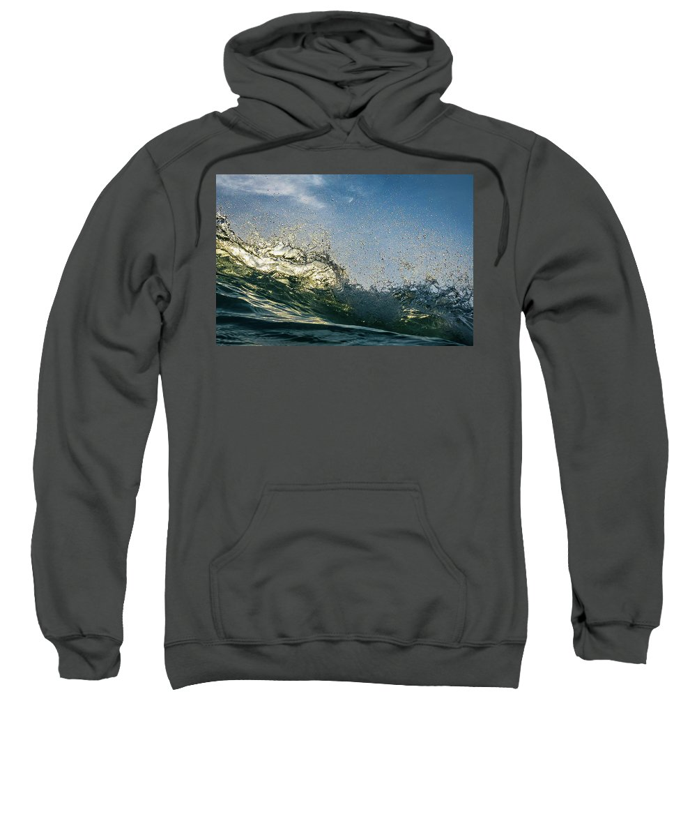 Sunset Sweatshirt featuring the photograph A Million Worlds by Andre Donawa