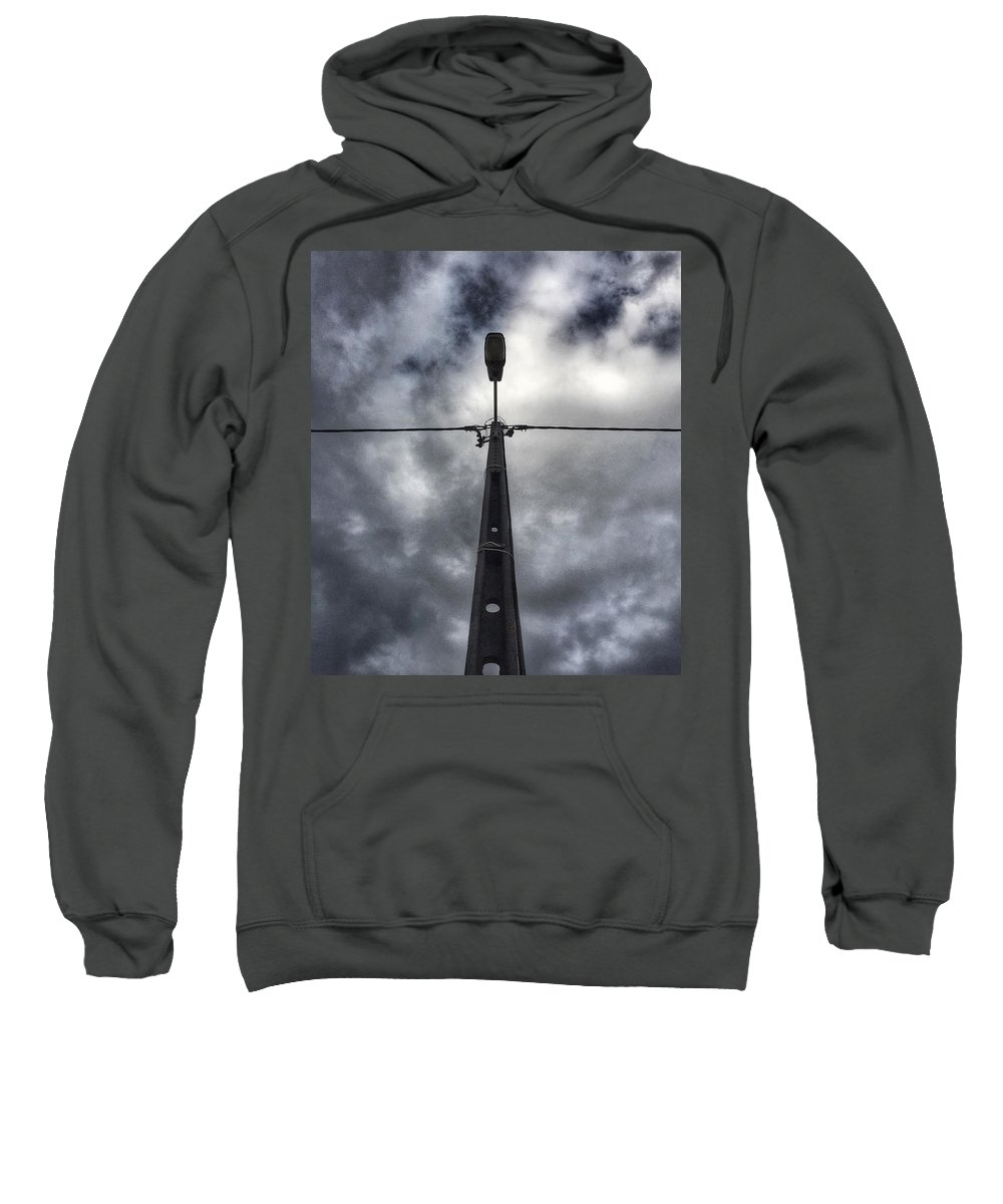 Street Lamp Sweatshirt featuring the photograph A Street Lamp by Dirk Jung