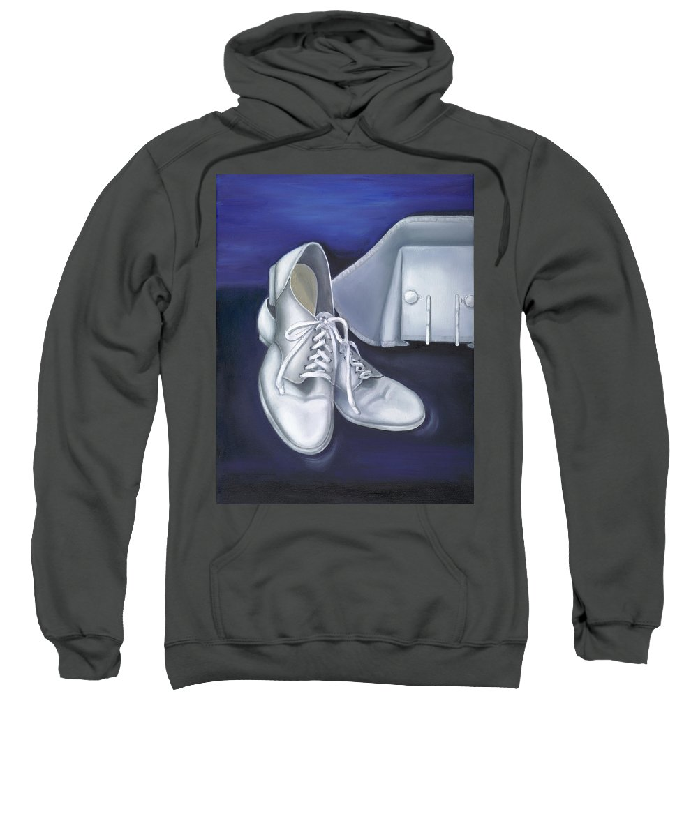 Nurse Sweatshirt featuring the painting A Tradition Of White by Marlyn Boyd