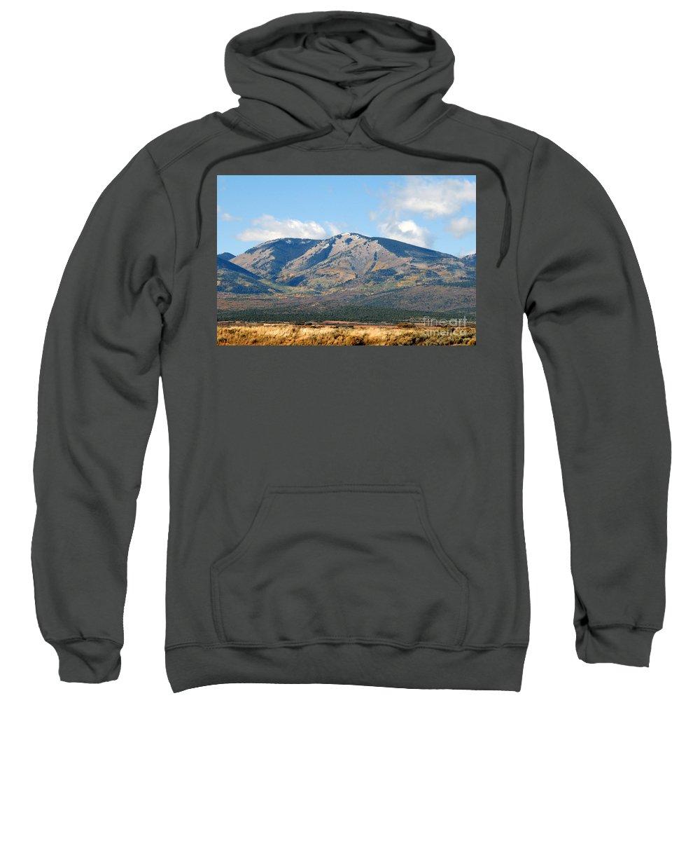Abajo Mountains Utah Sweatshirt featuring the photograph Abajo Mountains Utah by David Lee Thompson