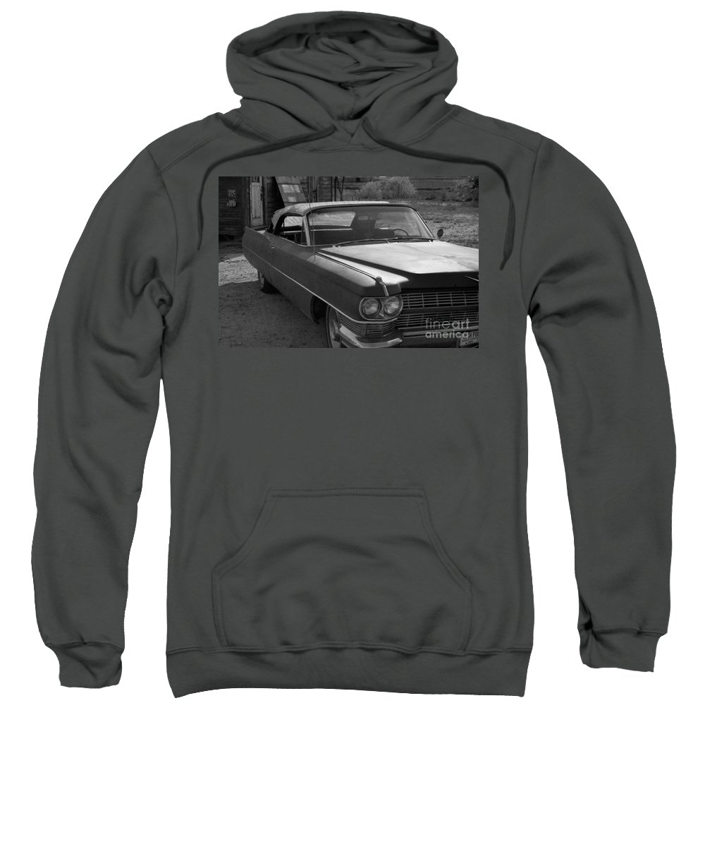 Cadillac Sweatshirt featuring the photograph Abandoned Classic by Richard Rizzo