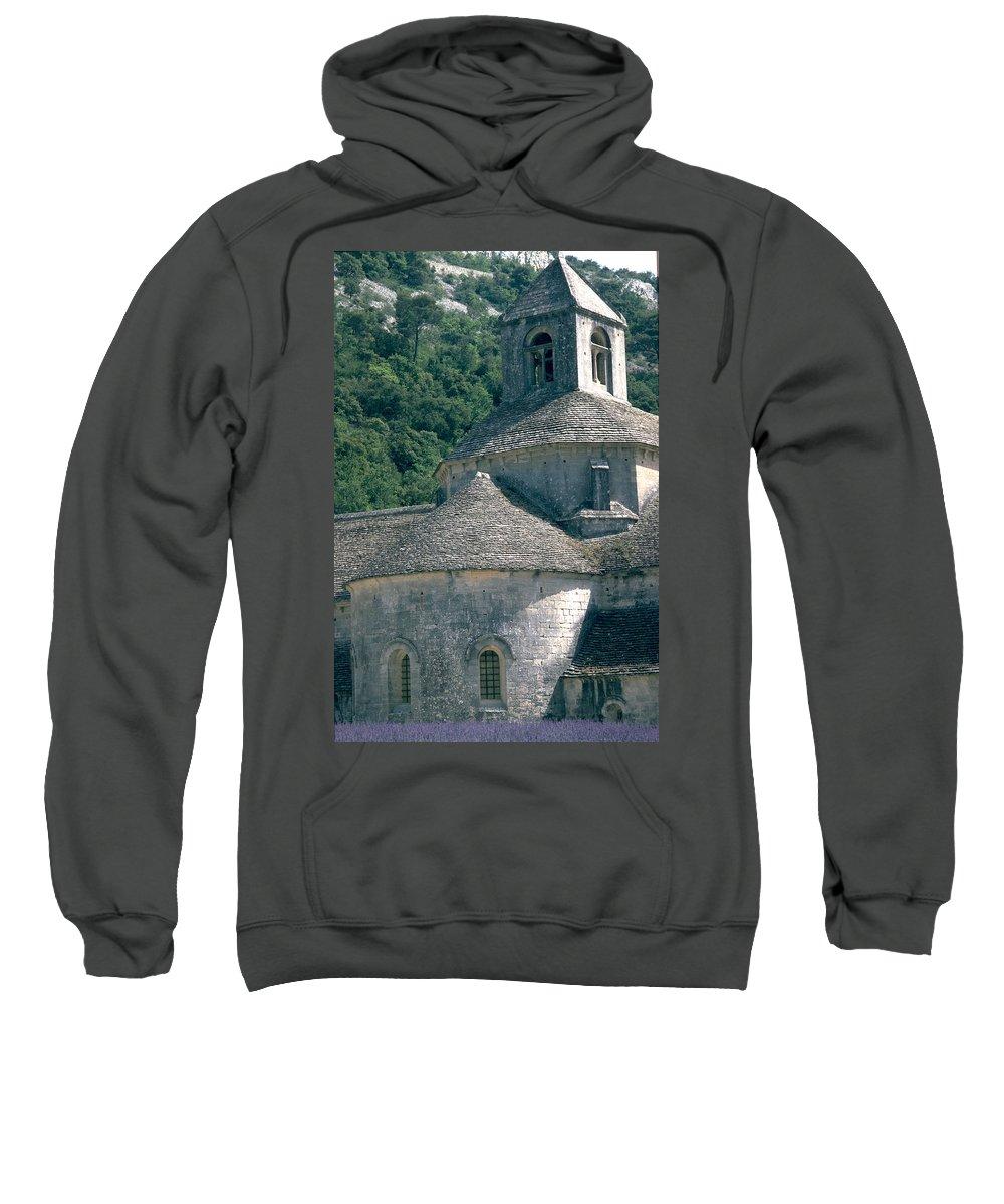 Abbeye De Senanque Sweatshirt featuring the photograph Abbeye De Senanque by Flavia Westerwelle