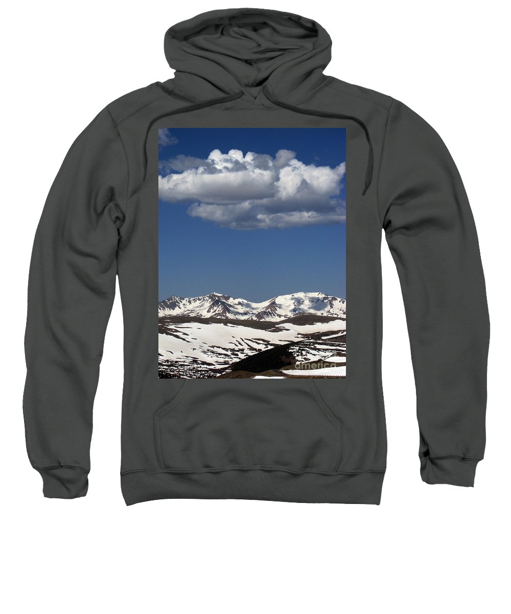 Colorado Sweatshirt featuring the photograph Above It All by Amanda Barcon
