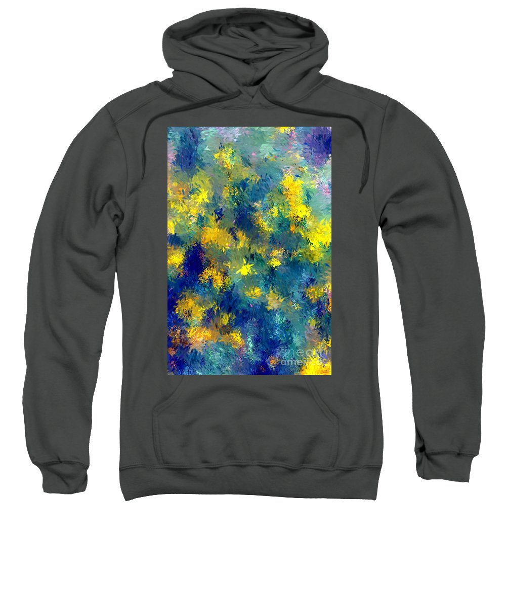 Abstract Sweatshirt featuring the photograph Abstract 06-28-09 by David Lane