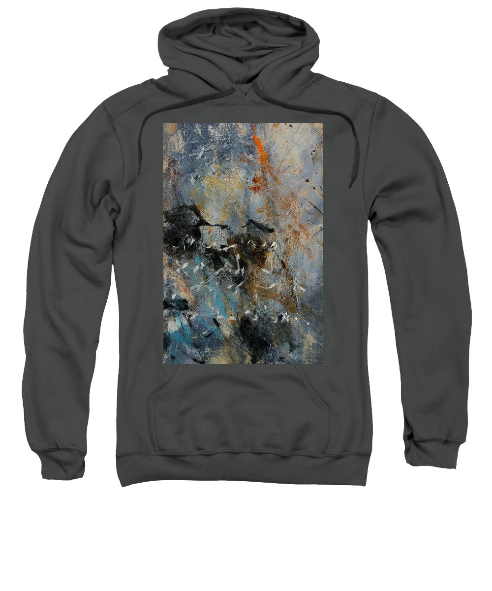 Abstract Sweatshirt featuring the painting Abstract 4526987 by Pol Ledent