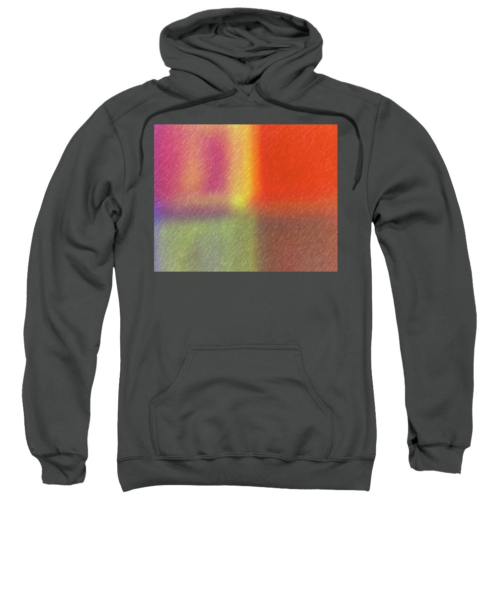 Abstract Sweatshirt featuring the digital art Abstract 5791 by Steve DaPonte