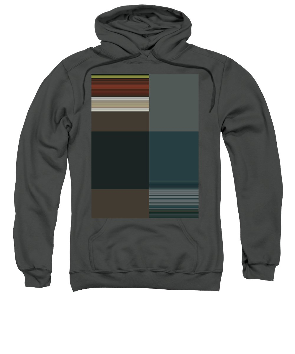 Abstract Sweatshirt featuring the digital art Abstract For My Mother by Lenore Senior