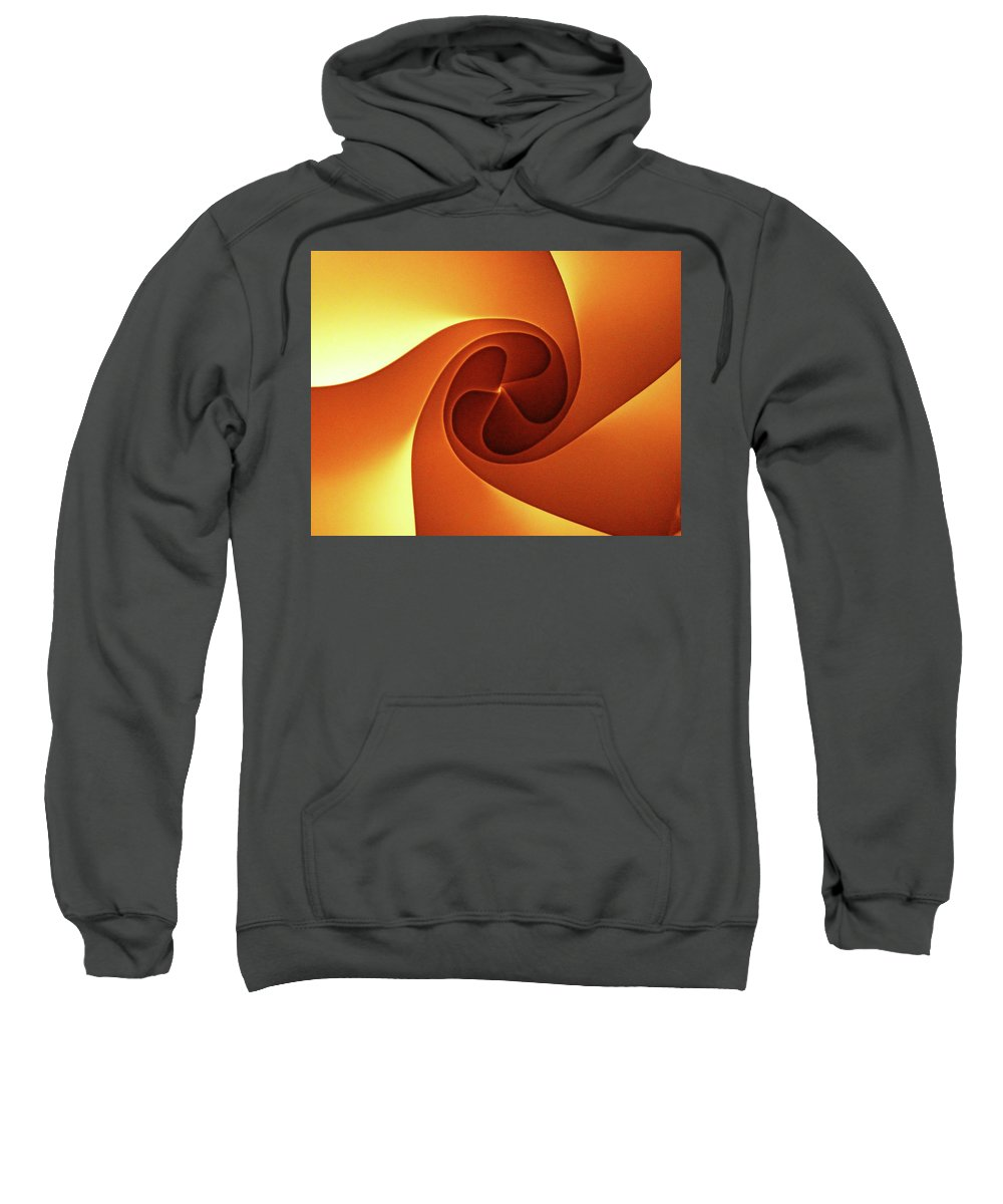 Swirl Sweatshirt featuring the photograph Abyss by Angela Wright