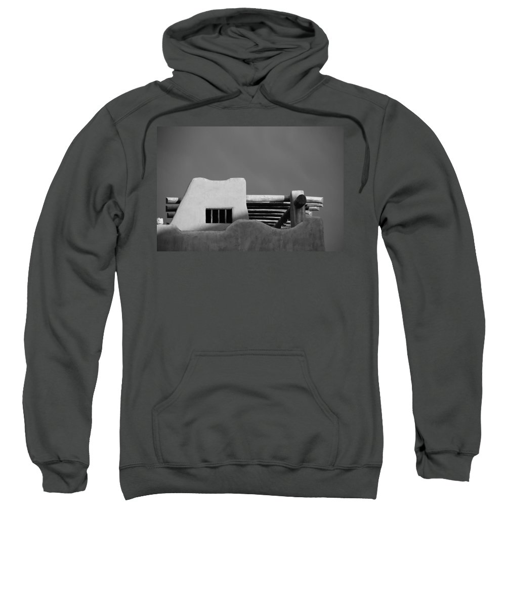 Architecture Sweatshirt featuring the photograph Adobe Turrett by Rob Hans
