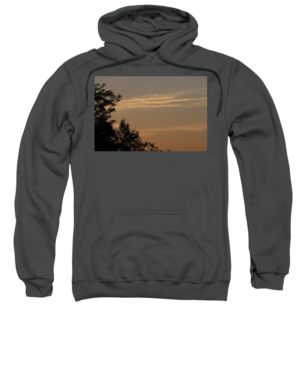 Sky Sweatshirt featuring the photograph After The Rain by Paul SEQUENCE Ferguson       sequence dot net