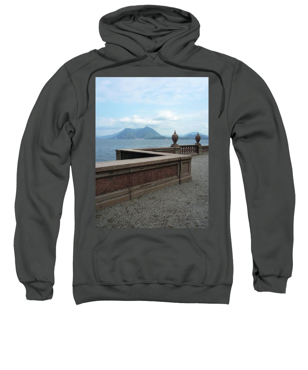 Lake Sweatshirt featuring the photograph Afternoon At The Lake by Irene Cristofori