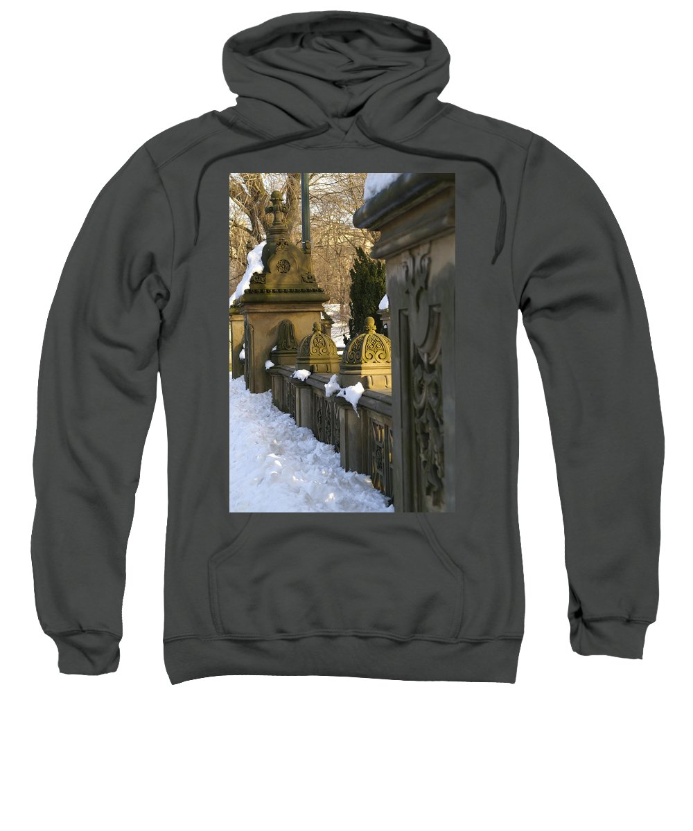 Central Sweatshirt featuring the photograph Afternoon In Central Park by Henri Irizarri