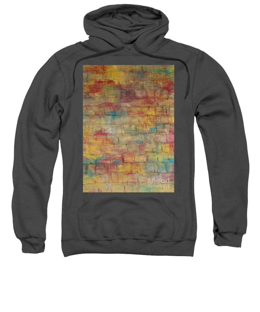 Freedom Sweatshirt featuring the painting Age Of Freedom by Dawn Hough Sebaugh