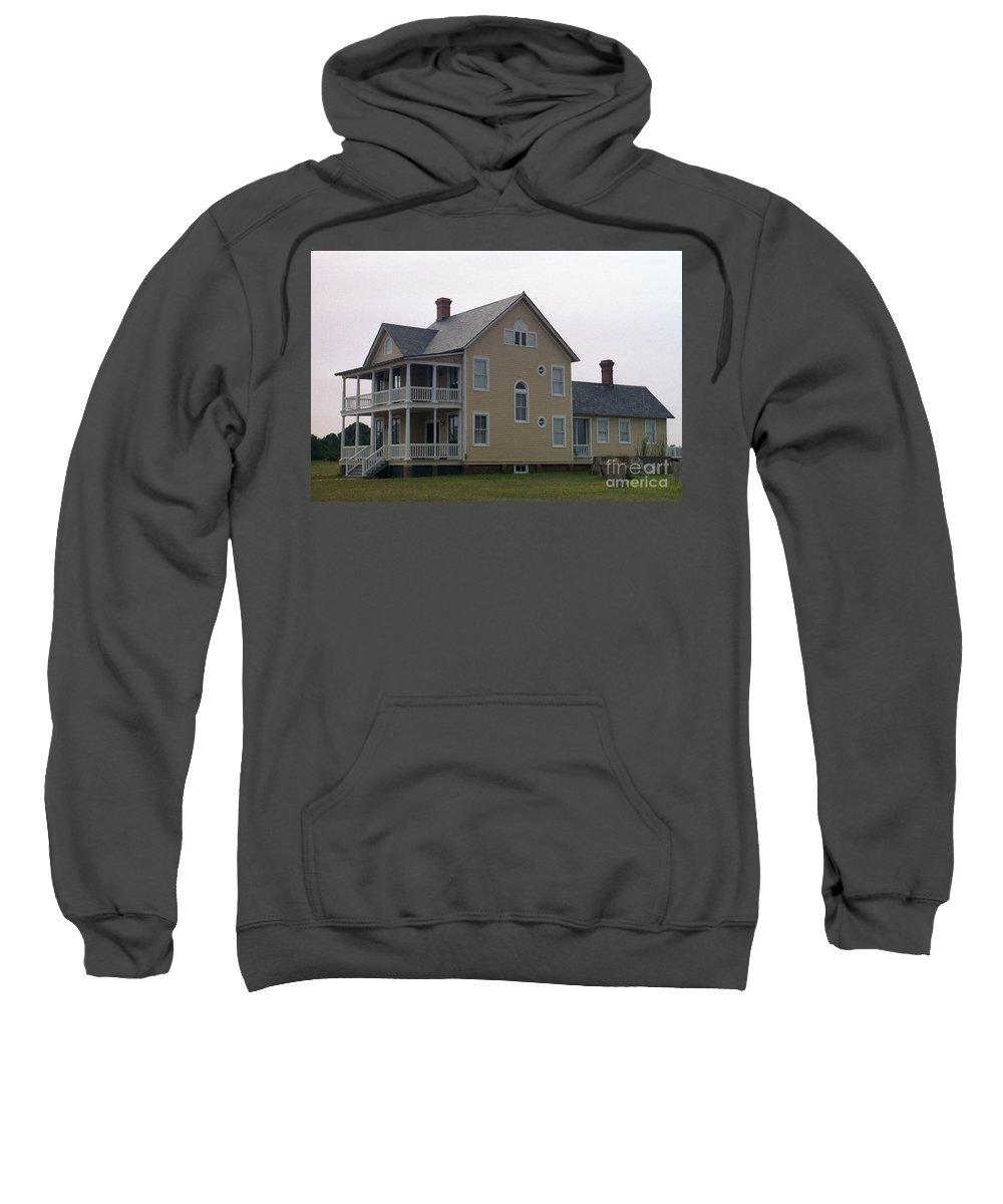 Alabama Sweatshirt featuring the digital art Alabama Coastal Home by Richard Rizzo