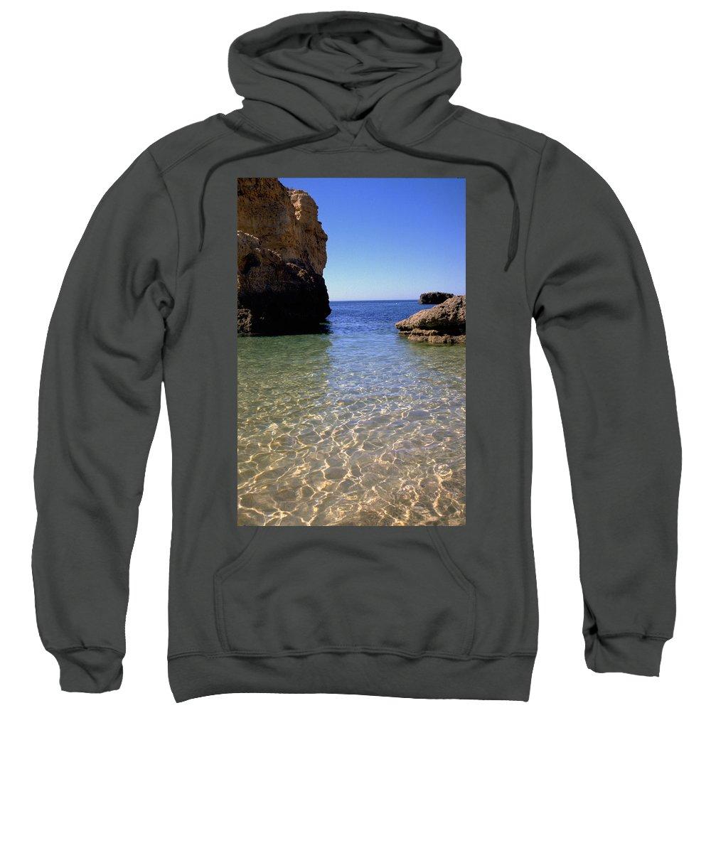 Algarve Sweatshirt featuring the photograph Algarve I by Flavia Westerwelle