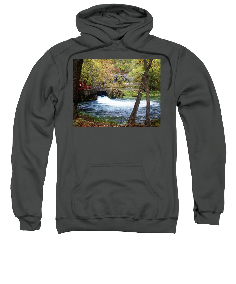 Alley Spring Sweatshirt featuring the photograph Alley Spring by Marty Koch